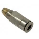 Insteekkoppeling 6mm incl terugslagklep tbv SSV(D)