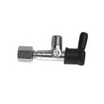 "Lincoln Overdruk ventiel 350 Bar 1/4"" D8 Snijring"