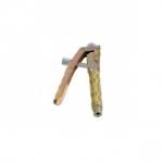 Doorsmeerpistool zonder pijpje of slangetje met 4-beks grijpkoppeling