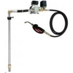 Elektrische oliepomp EP300 DS incl. zuigbuis 200 ltr. drum en afgifte slangen en doseerpistool