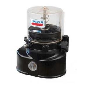 Lincoln vetpomp P502, 1 KG, laagniveau + volgplaat, 24 Volt, 1K6 pompelement, 2e aansluiting