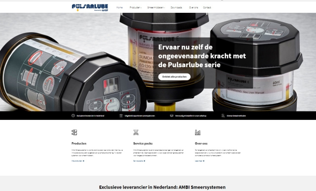 Pulsarlube-nederland webiste