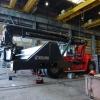 Lincoln Smeersysteem Kalmar container heftruck